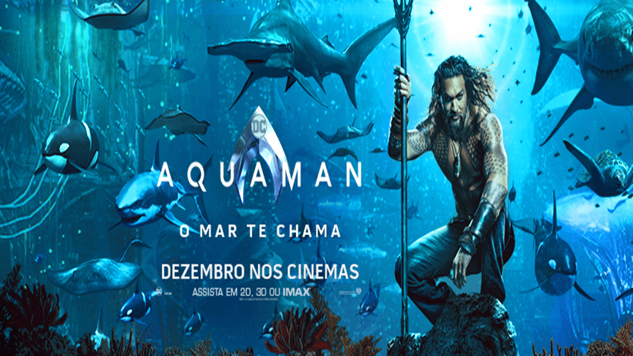 Aquaman – Dublado BluRay 720p / 1080p / 4K - Torrent