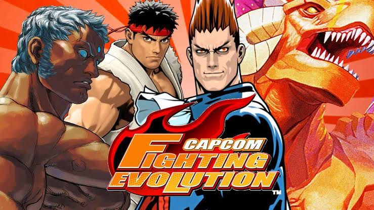 CAPCOM: FIGHTING EVOLUTION (2004) PS2 DOWNLOAD